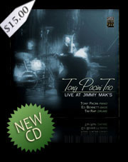 Tony Pacini Trio CD Live At Jimmy Mak's