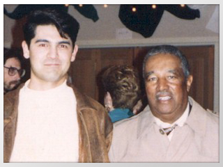 Photo of Tony Pacini with Ray Brown