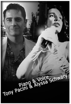 Tony Pacini and Alyssa Schwary.