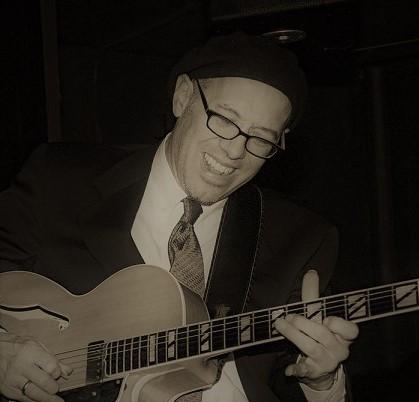 Dan Balmer guitarist. Photo by: Jane A. Johnson.