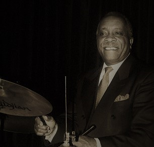 Mel Brown drummer. Photo by: Jane A. Johnson.