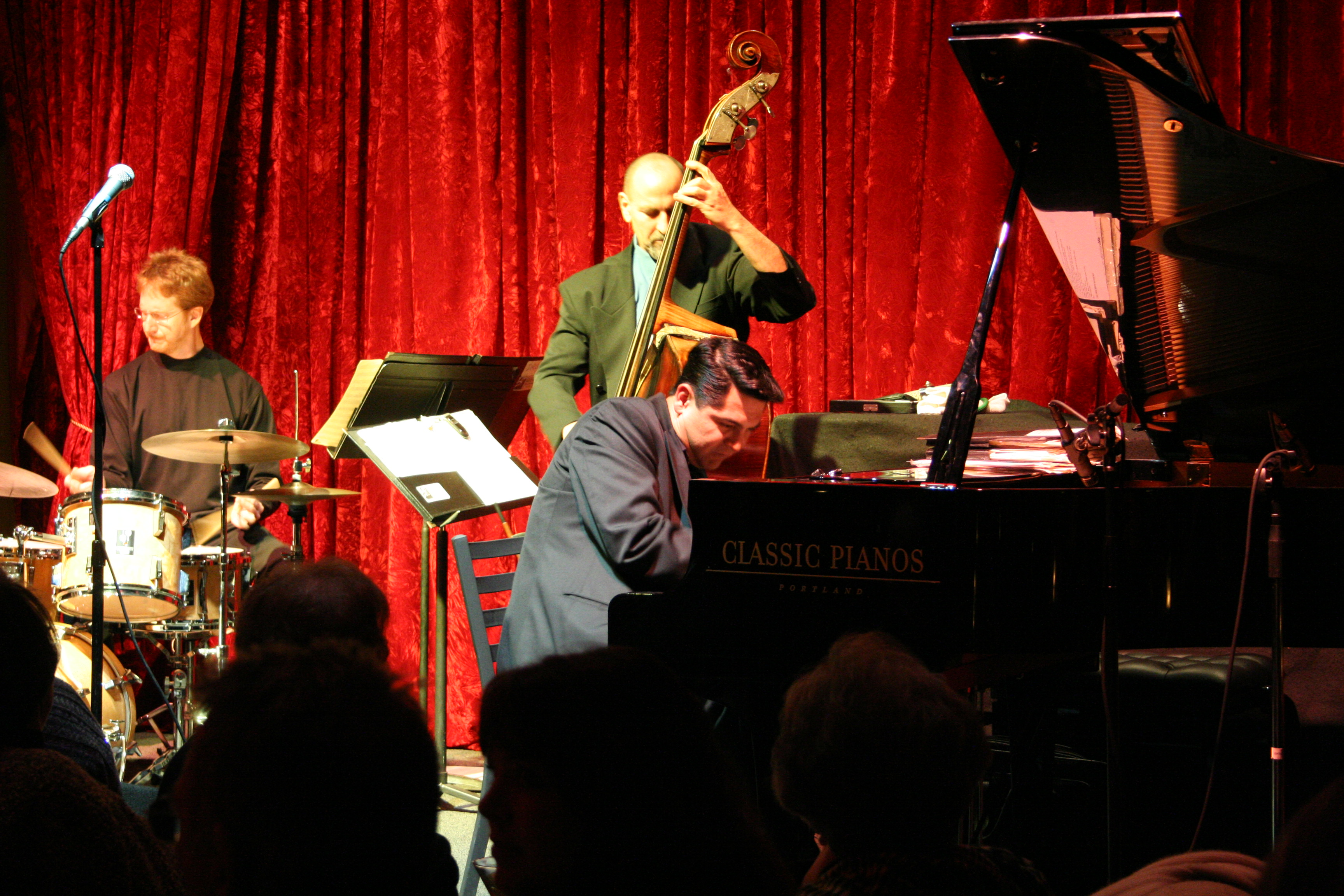 The Tony Pacini Trio records live in concert.